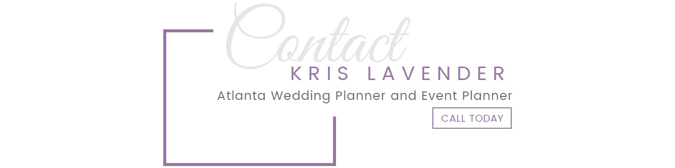 Kris Lavender - Atlanta Wedding Planner and Event Planner